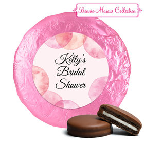 Bonnie Marcus Collection Bridal Shower Blithe Spirit Belgian Chocolate Covered Oreo Cookies Foil Wrapped (24 Pack)