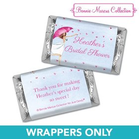 Personalized Bonnie Marcus Bridal Shower Bridal Love Reigns Mini Wrappers Only