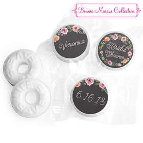 Personalized Bonnie Marcus Wedding Floral Wreath Life Savers Mints