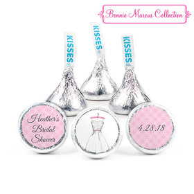 Personalized Bonnie Marcus Bridal Shower Wonderful Bridal Shower Dress Hershey's Kisses (50 Pack)