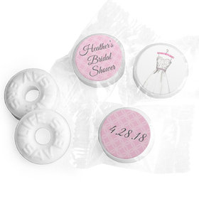 Personalized Bonnie Marcus Bridal Shower Wonderful Bridal Shower Dress Life Savers Mints