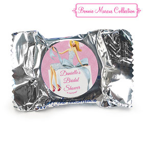 Personalized Bonnie Marcus Wedding Beautiful Bride with Bow Blonde York Peppermint Patties