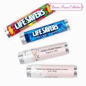 Personalized Bridal Shower The Bubby Lifesavers Rolls (20 Rolls)