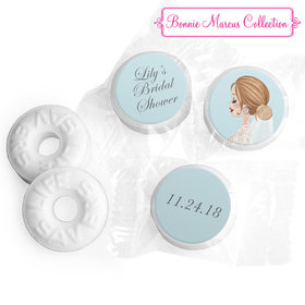Personalized Bonnie Marcus Wedding Vintage Veil Brunette Life Savers Mints
