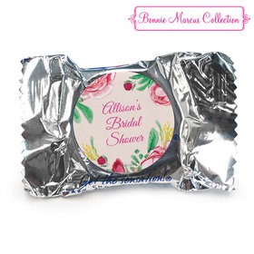 Personalized Bridal Shower Fabulous Floral York Peppermint Patties