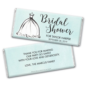 Personalized Bonnie Marcus Bridal Shower Hershey's Chocolate Bar & Wrapper