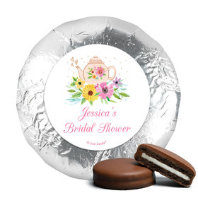 Personalized Bridal Shower Garden Tea Party Chocolate Covered Oreos (24 Pack)