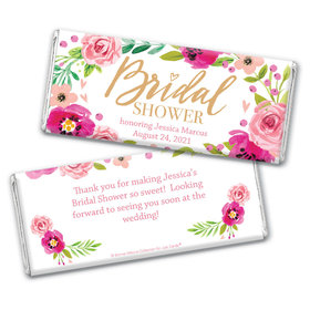 Personalized Bonnie Marcus Bridal Shower Hershey's Chocolate Bar Wrappers