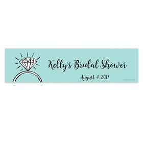 Personalized Last Fling Bridal Shower Banner
