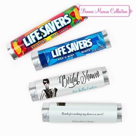 Personalized Bridal Shower Vogue Lifesavers Rolls (20 Rolls)