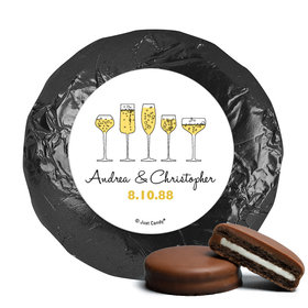 Personalized Anniversary Cheers To Love Chocolate Covered Oreos (24 Pack)
