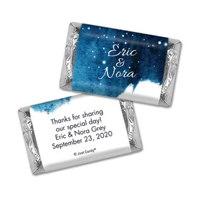 Personalized Wedding Hershey's Miniatures Wrappers Magical Evening