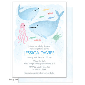 Bonnie Marcus Collection Personalized Under the Sea Invitation