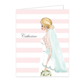 Bonnie Marcus Collection Vintage Bride Stripes Thank You