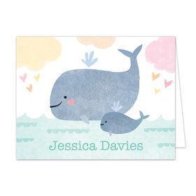 Bonnie Marcus Collection Baby Whale Thank You