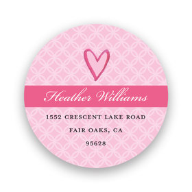 Bonnie Marcus Collection Wonderful Wedding Dress Return Address Sticker